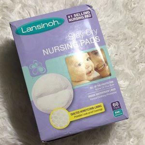 Lansinoh Stay Dry Nursing Pads 60 Ct.